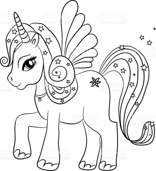 Dibujos De Unicornios Para Colorear Colorear Imagenes