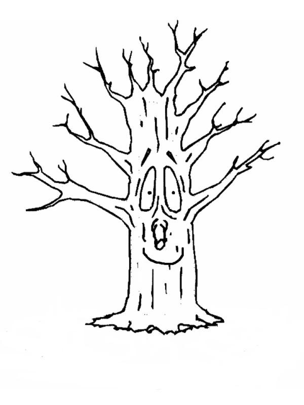 Dibujos del d a del rbol para imprimir y colorear for Que significa dibujar arboles secos
