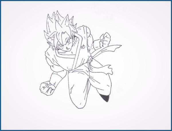 Imagenes De Vegeta Para Colorear: Dibujos De Dragon Ball Z, Goku Y Vegeta Para Colorear