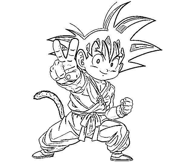 Vegeta Para Colorear Baby Para Goku Y Vegeta Para Pintar: Dibujos De Dragon Ball Z, Goku Y Vegeta Para Colorear
