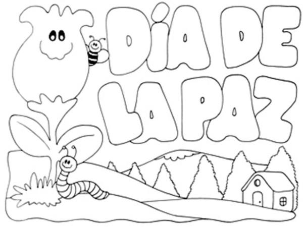 21 De Septiembre Dibujos Del Día De La Paz Para Imprimir Y