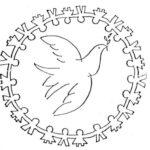 21 de septiembre – Dibujos del Día de la Paz para imprimir y pintar