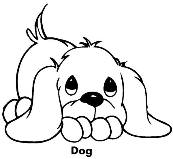 Dibujos De Perros Bonitos Para Imprimir Y Pintar Colorear Imágenes