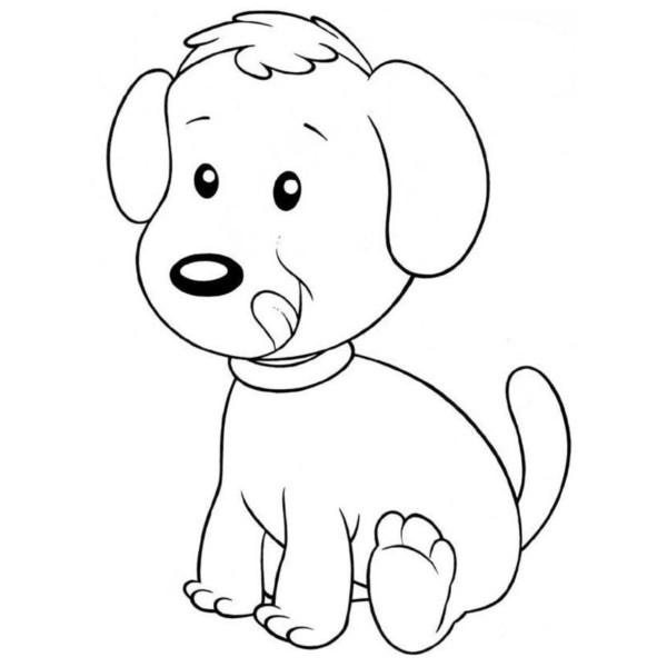 Dibujos De Perros Bonitos Para Imprimir Y Pintar