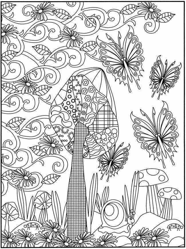 Dibujos Del Dia De La Primavera Para Imprimir Y Pintar El 21 De