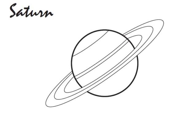 Dibujos Para Colorear Del Sistema Solar: Dibujos Del Sistema Solar Y Sus Planetas Para Colorear