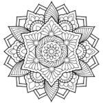 Dibujos de Mandalas para colorear (fáciles y difíciles)