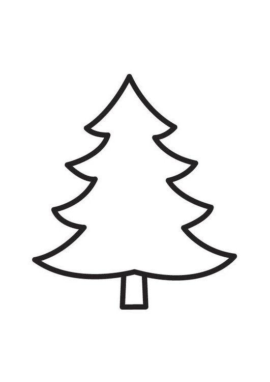 árboles De Navidad Para Colorear 40 Dibujos Colorear Imágenes