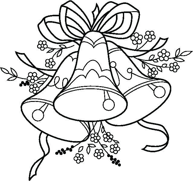 Campanas De Navidad Para Colorear 40 Dibujos Colorear