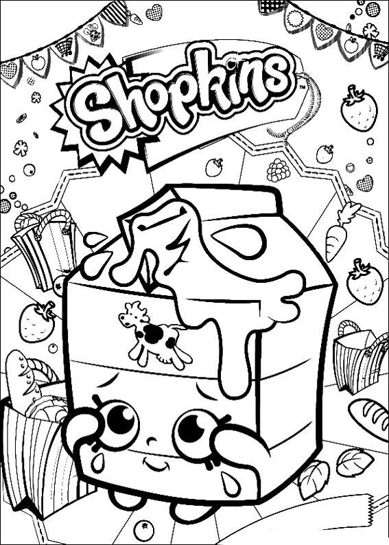 Dibujos De Shopkins Para Colorear E Imprimir Colorear Imágenes