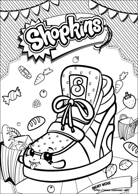 Dibujos de Shopkins para colorear