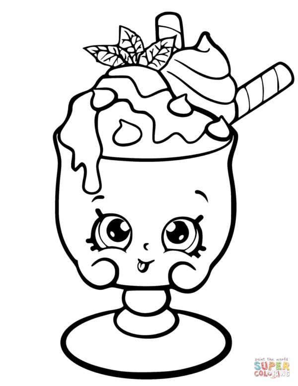Dibujos de Shopkins para colorear e imprimir | Colorear ...
