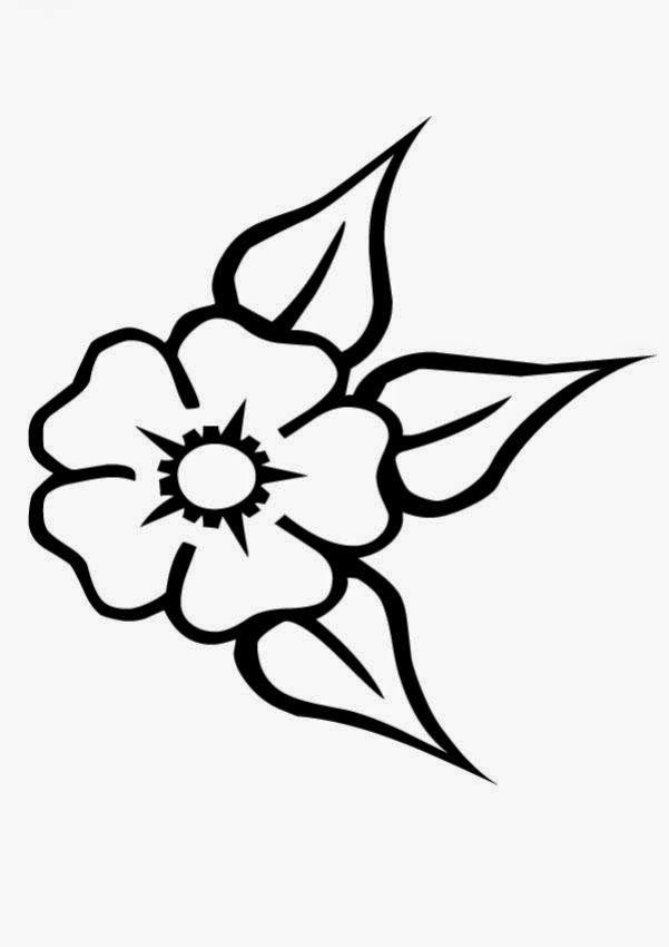 Dibujos Para Colorear De Rosas Faciles Cómo Dibujar Una Rosa