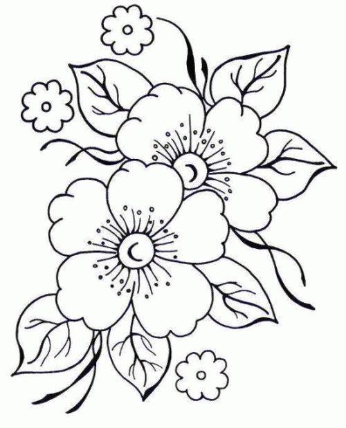 Las Mas Bonitas Flores Para Colorear Colorear Imagenes