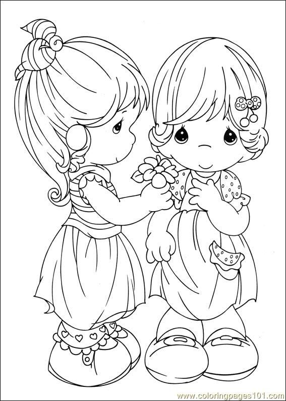 Dibujos De Mejores Amigas Para Colorear E Imprimir Colorear Imágenes