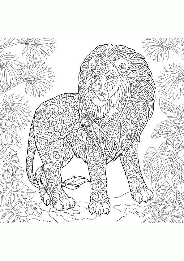 Dibujos para Colorear MANDALAS de Animales | Colorear imágenes