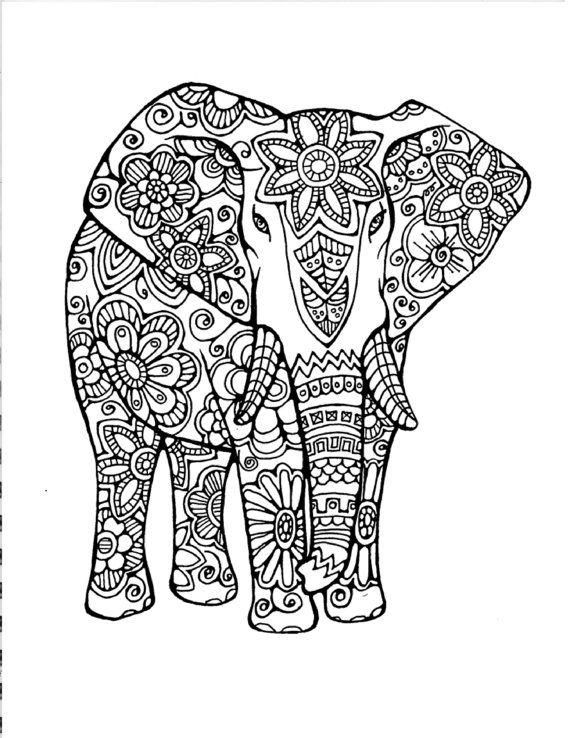 Dibujos Para Colorear Mandalas De Animales Colorear Im 225 Genes