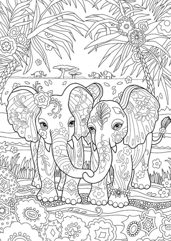 Dibujos Para Colorear Mandalas De Animales Colorear Imagenes