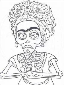 Dibujos Frida Kahlo Para Colorear Madreviewnet