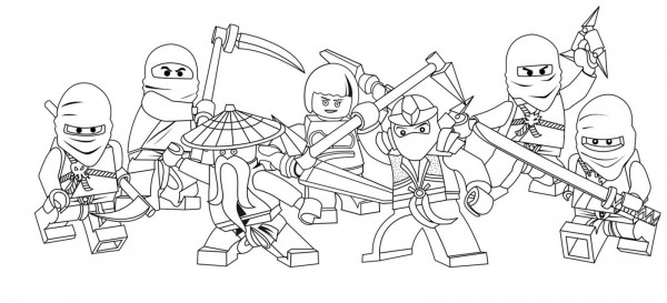 Dibujos De Lego Para Colorear E Imprimir Colorear Imágenes