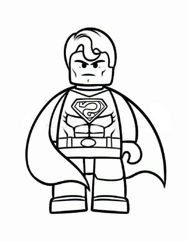 Dibujos de Lego para colorear e