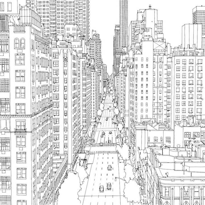 Dibujos de Casas para colorear - Edificios, Castillos ...
