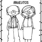 Dibujos de Abuelos para colorear, descargar e imprimir