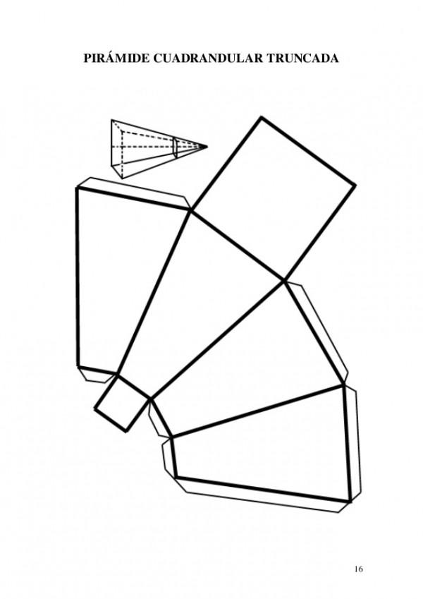 Dibujos de Figuras geométricas 3D para colorear, imprimir ...