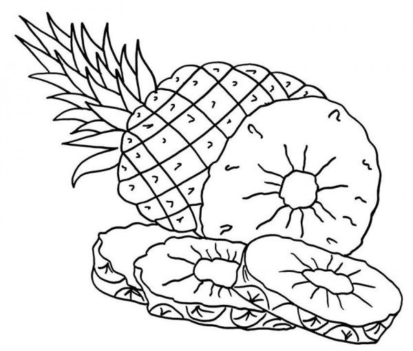 Dibujos De Frutas Para Colorear Descargar E Imprimir