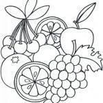 Dibujos de Frutas para colorear, descargar e imprimir