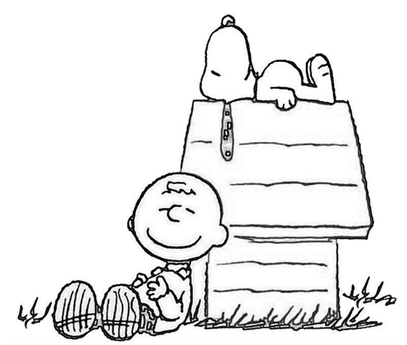 Imágenes de Snoopy para imprimir y colorear | Colorear ...