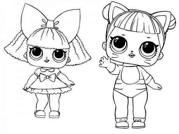 Dibujos De Lol Surprise Doll Para Colorear Colorear Imagenes