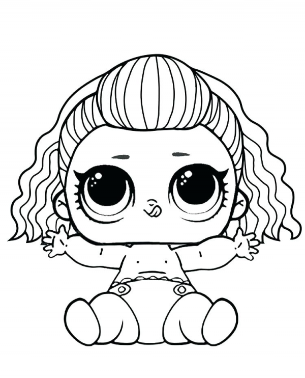 Dibujos De Lol Surprise Doll Para Colorear Colorear Imagenes