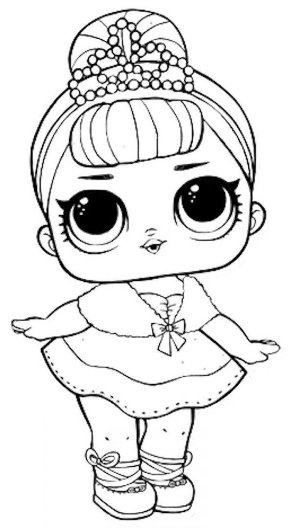 Dibujos de LOL Surprise doll para colorear | Colorear imágenes