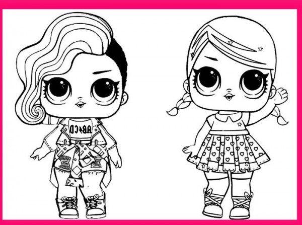 Dibujos De Lol Surprise Doll Para Colorear Colorear Imágenes