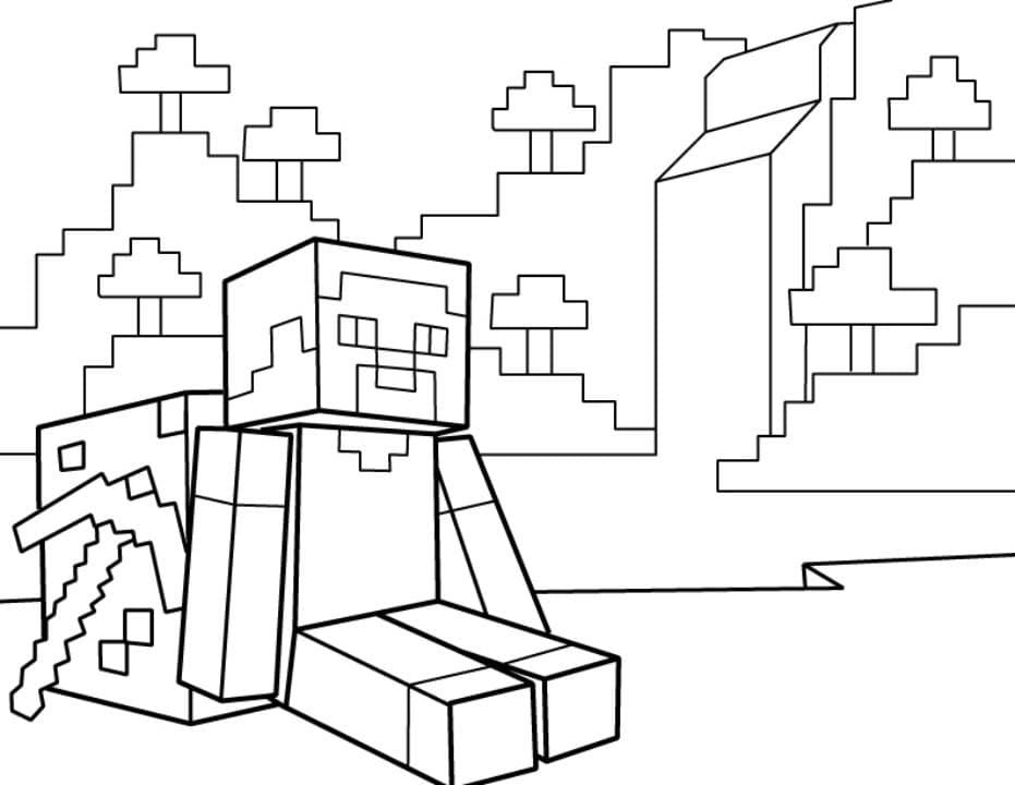 Dibujos de Minecraft para colorear, descargar e imprimir ...