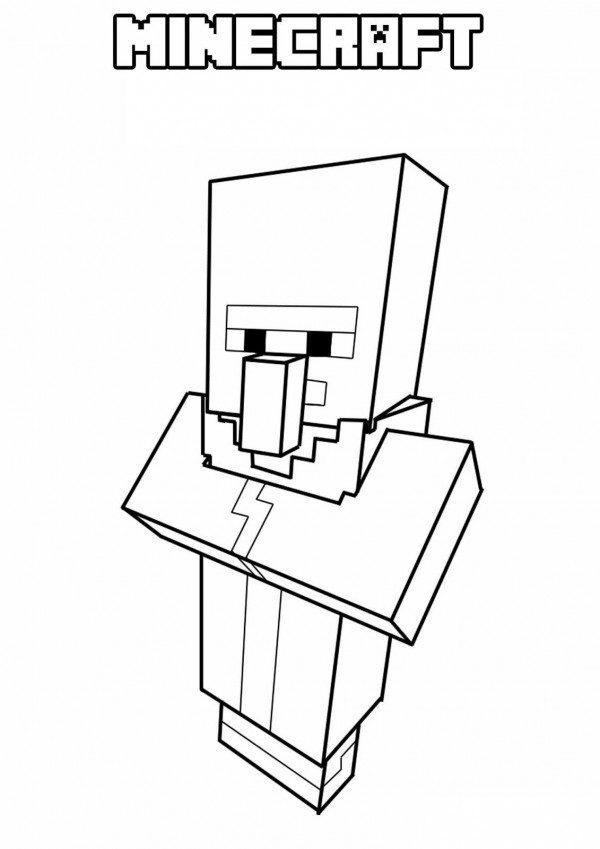 Dibujos De Minecraft Para Colorear Descargar E Imprimir