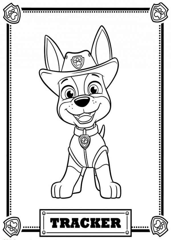 Dibujos De Paw Patrol La Patrulla Canina Para Colorear