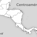 Mapas de Centroamérica para colorear