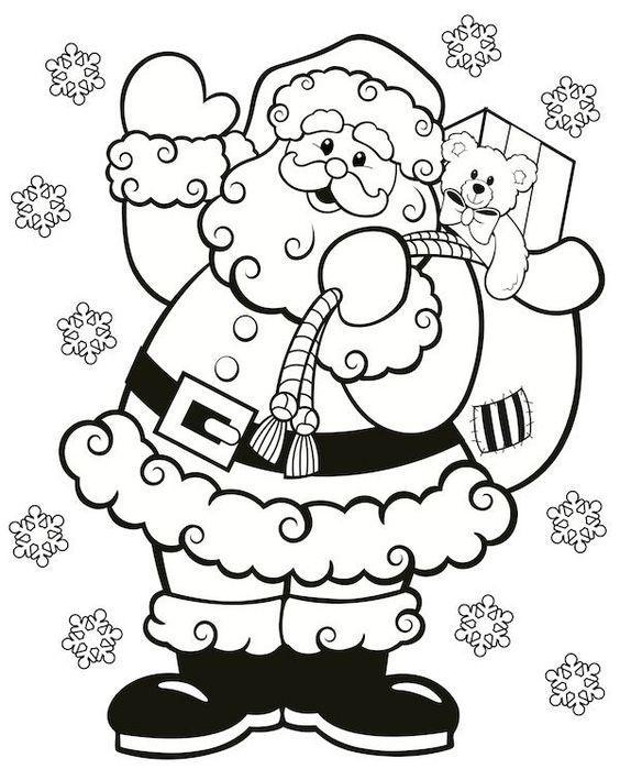 Dibujos Kawaii De Navidad Faciles Para Dibujar Y Colorear