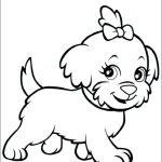 Dibujos de perros y perritos para colorear, descargar e imprimir