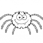 Dibujos de Arañas para colorear, descargar e imprimir
