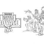 Dibujos de Fortnite Battle Royale para colorear, descargar e imprimir
