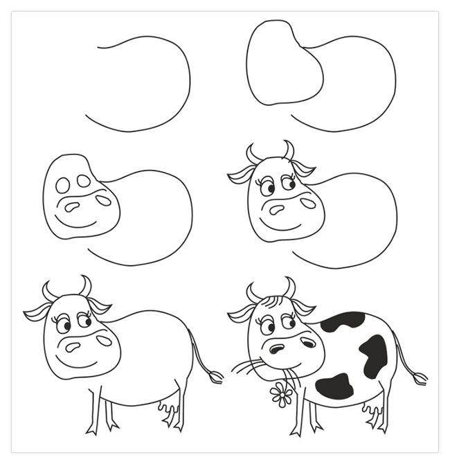 Dibujos a Lápiz fáciles sencillos para copiar y dibujar ...