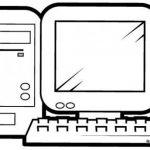 Dibujos de Computadoras para colorear, descargar e imprimir