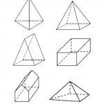 Dibujos de Formas geométricas 3D, para colorear, descargar e imprimir