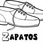 Dibujos de Zapatos para colorear, descargar e imprimir