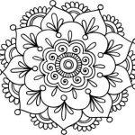 Mandalas fáciles para niños, colorear, descargar e imprimir