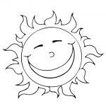 Dibujos de el sol para colorear, descargar e imprimir