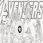 Dibujos de Los Vengadores para colorear, descargar e imprimir